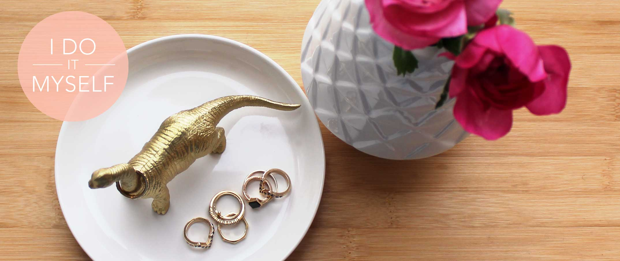 DIY 8 : Porte bague Dinosaure