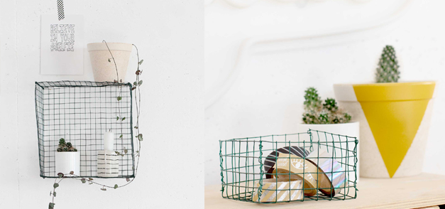 DIY 87 – Etagère en grillage
