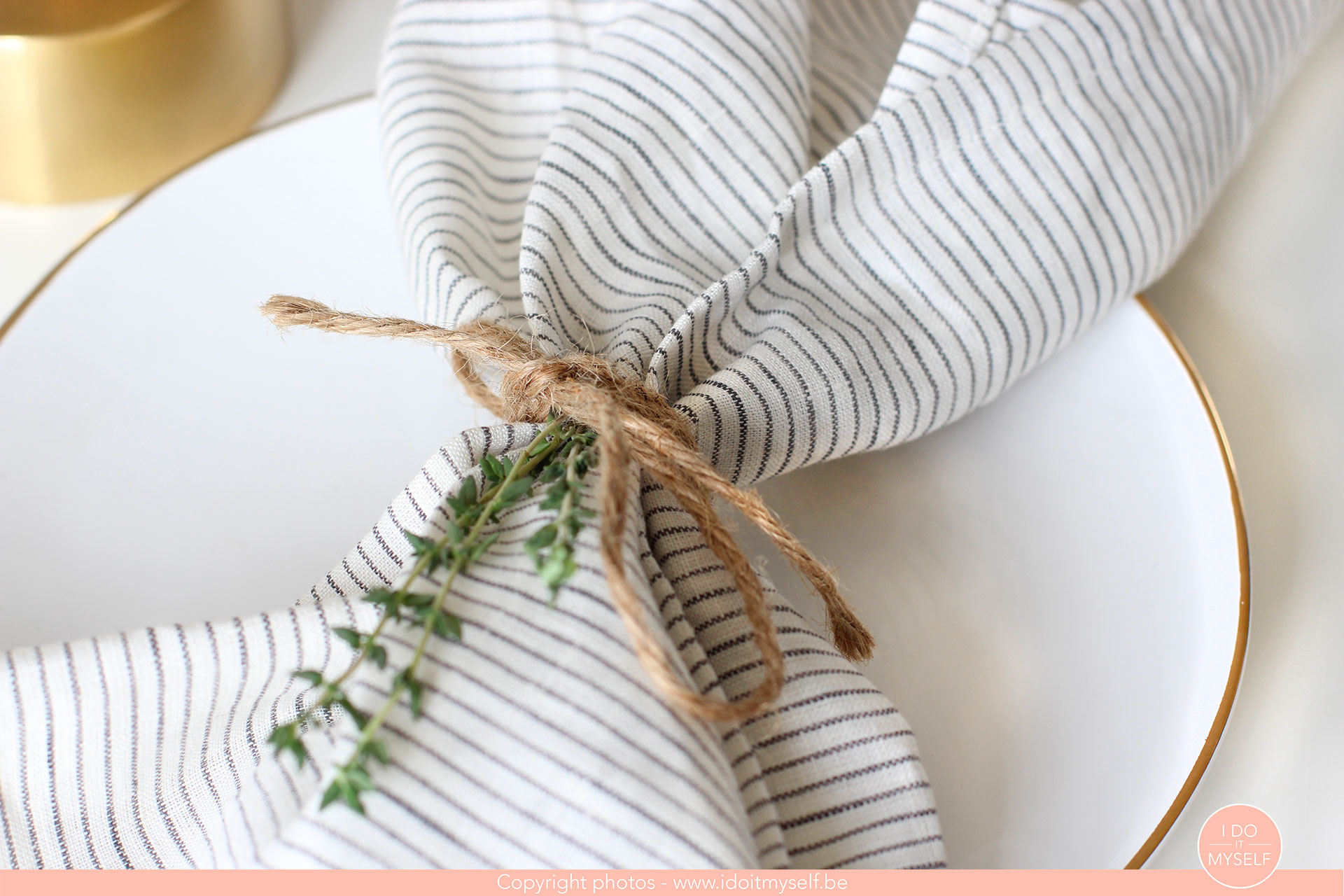 serviettes faciles