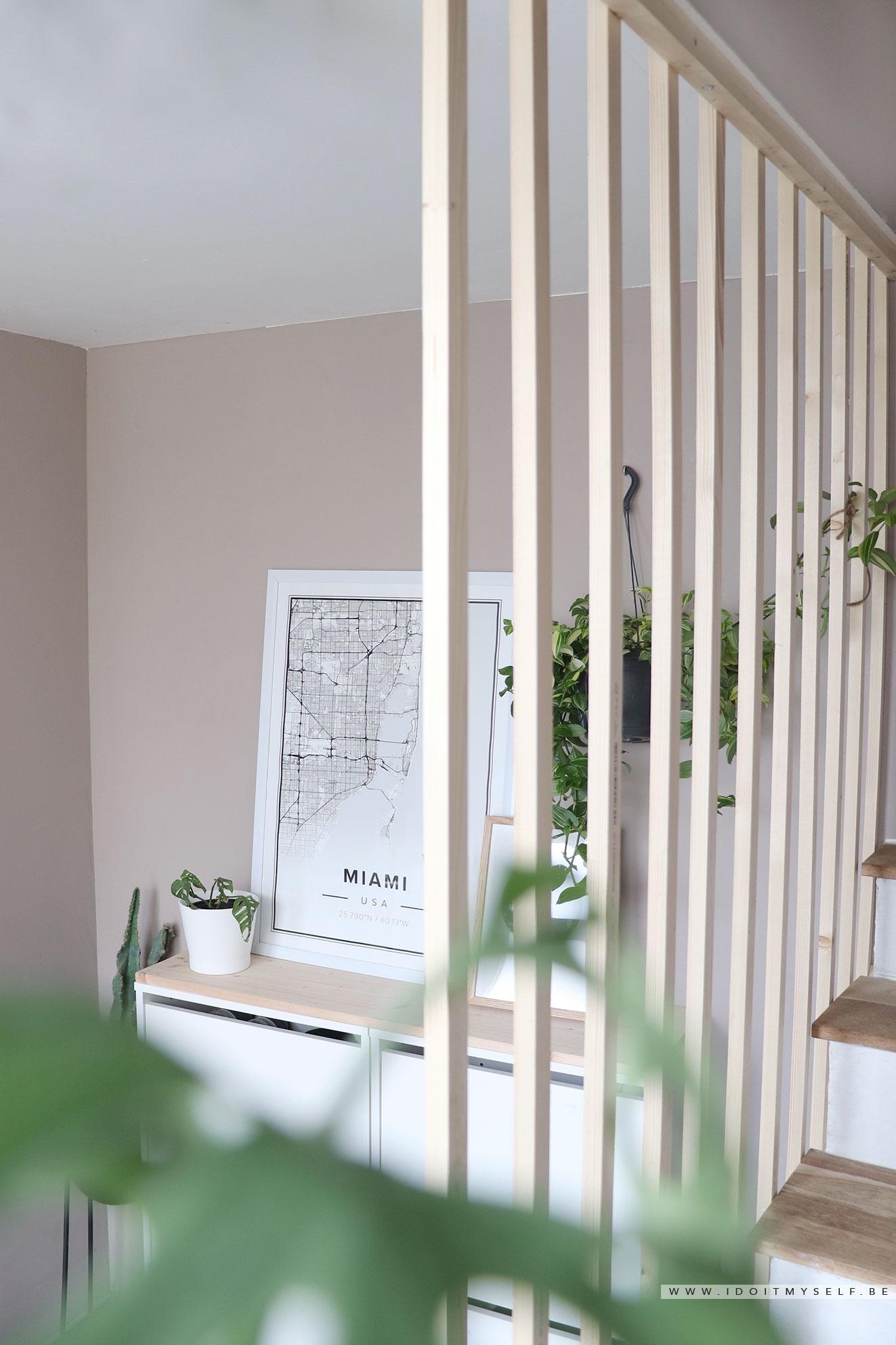 Claustra Intérieur En Bois diy - un claustra pour mon entrée - i do it myself