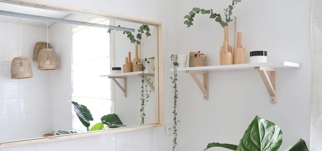 DIY – Encadrement en bois pour mon miroir