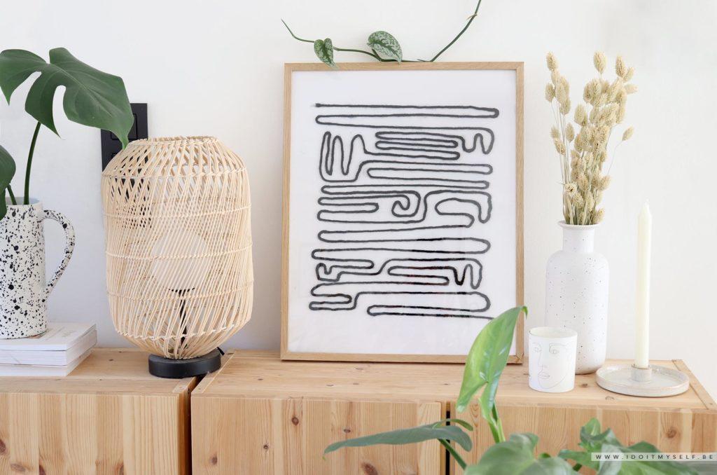 Affiche minimaliste DIY