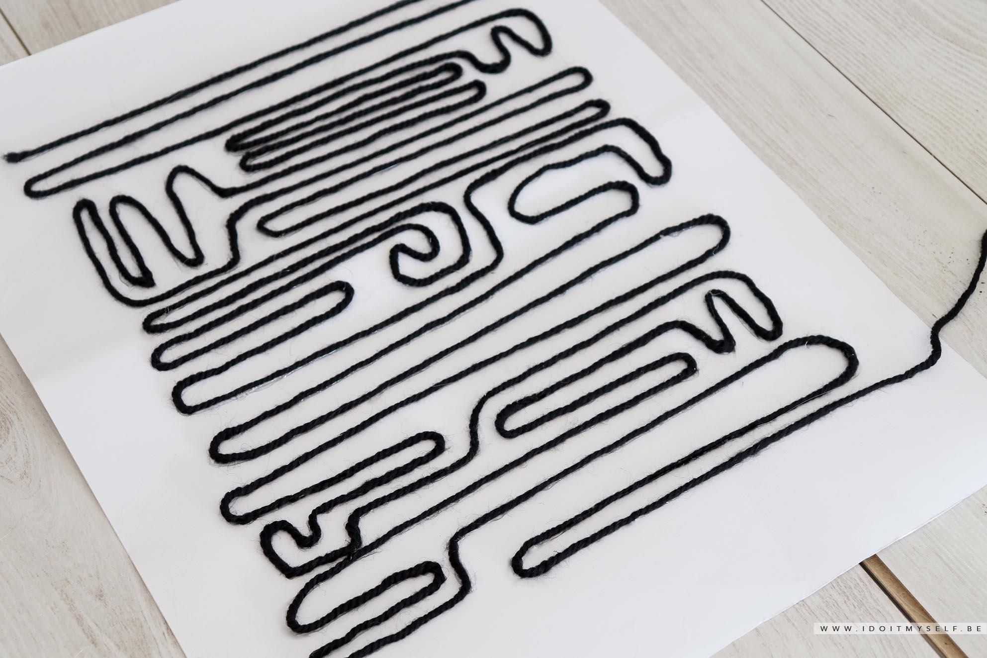 Affiche DIY laine