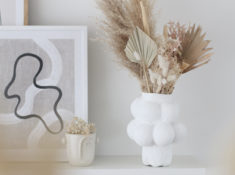 DIY vase organique